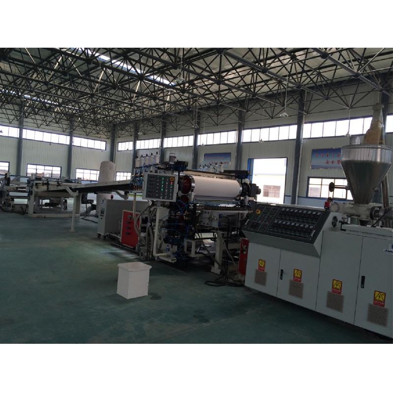 PVC imitation marble production machine