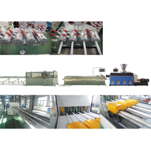 PVC Four Strands Pipe Extrusion Line