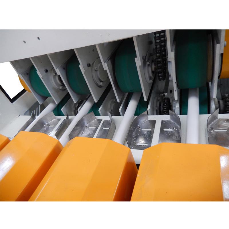 PVC four pipes extrusion machine