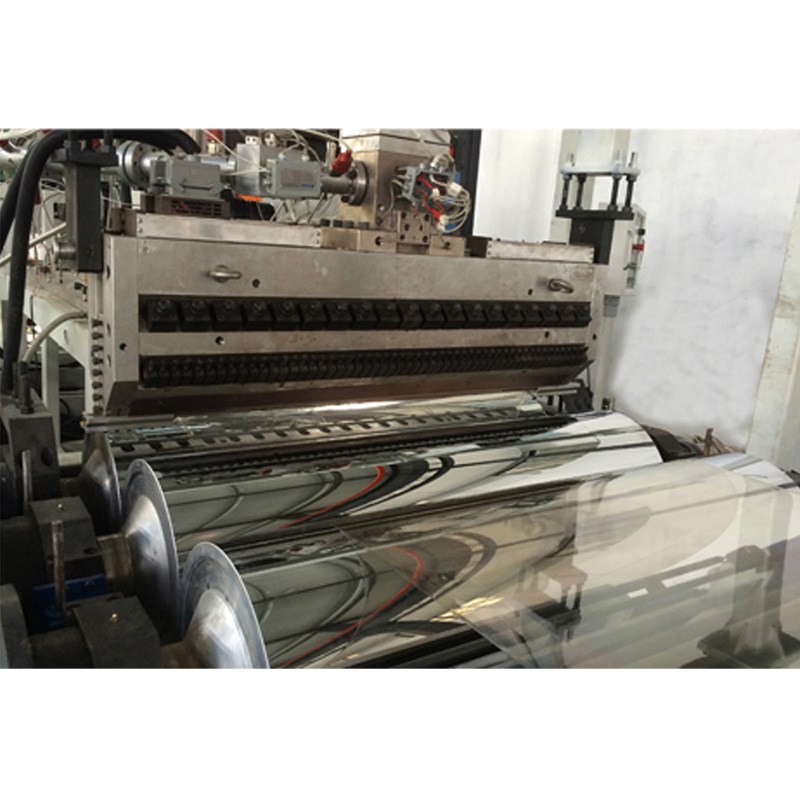 Pc Pvc Corrugated Sheet Extrusion Line From China