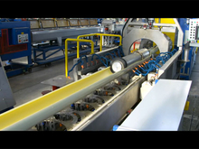 PVC-O Pipe Extrusion Line